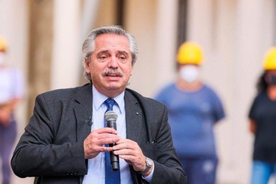 Fernández: El trabajo mueve a las sociedades y dignifica