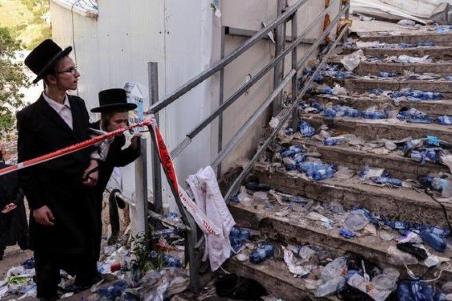 Israel despide a las primeras víctimas de fatídica estampida