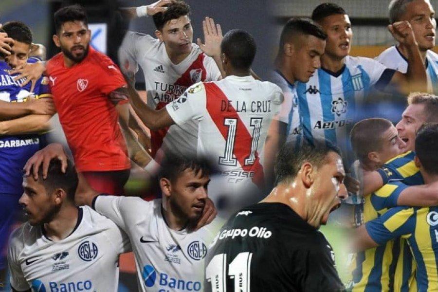 El superdomingo de la Copa de la Liga Profesional