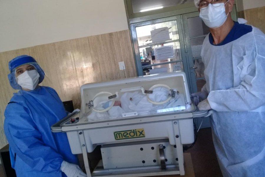 Nació otro bebé en el Hospital de Campaña