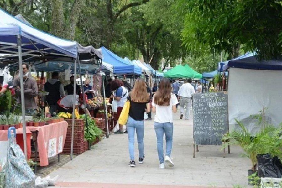 Las ferias de productos frescos visitarán dos barrios