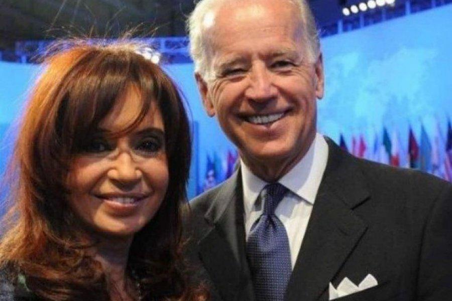 Cristina Kirchner celebró el discurso económico e impositivo de Joe Biden