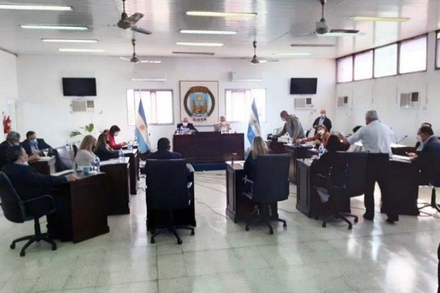 Otra vez el Concejo Deliberante de Goya cerrado por Covid-19