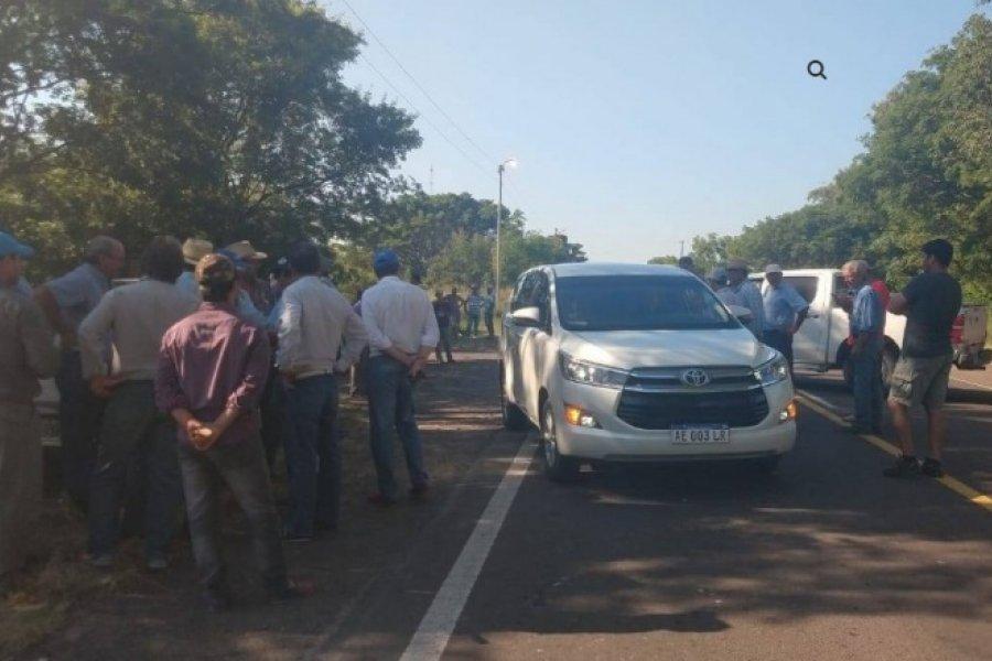 Goya: Tabacaleros anunciaron para este miércoles corte de Ruta 12