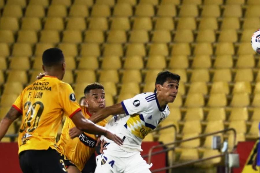 Boca perdió el invicto frente al Barcelona en Guayaquil