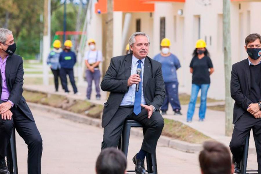 El Presidente lanza el Programa Reconstruir para la finalización de viviendas
