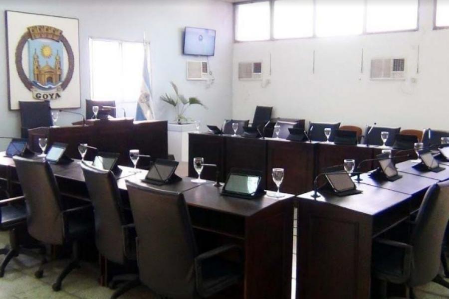 Hisopados masivos en el Concejo Deliberante goyano