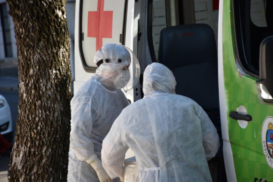 Pandemia: Fallecieron 2 pacientes en el Hospital de Campaña