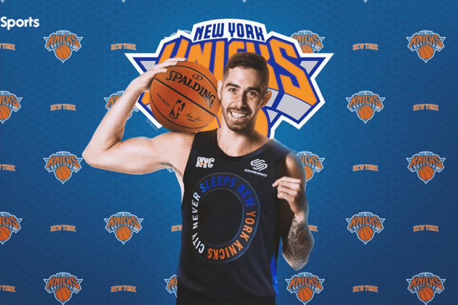Luca Vildoza jugará en los New York Knicks de la NBA