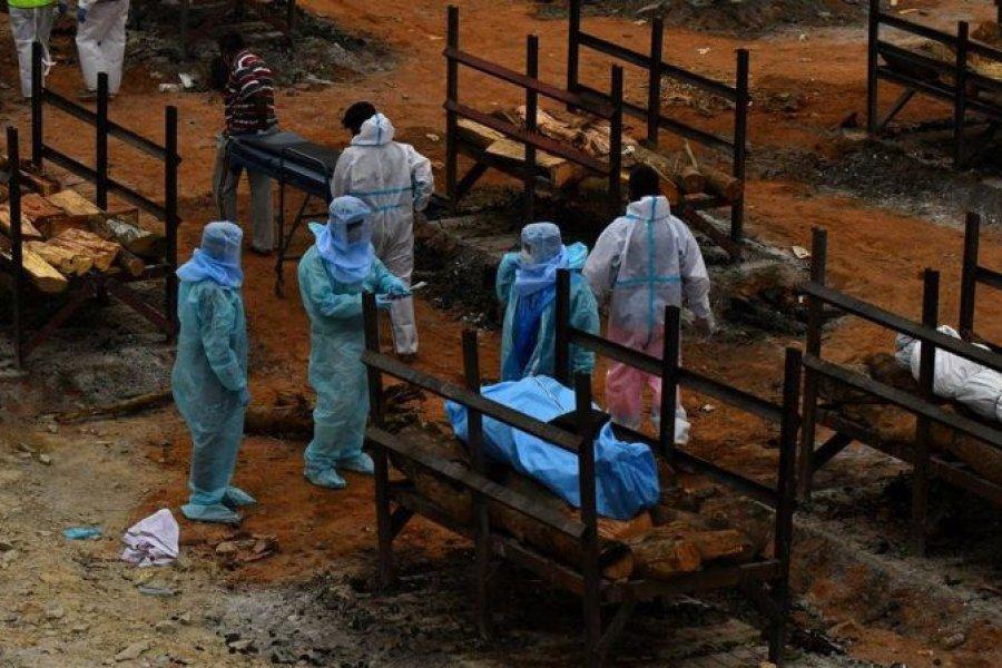 India representa el 46% de los nuevos casos de coronavirus en el mundo