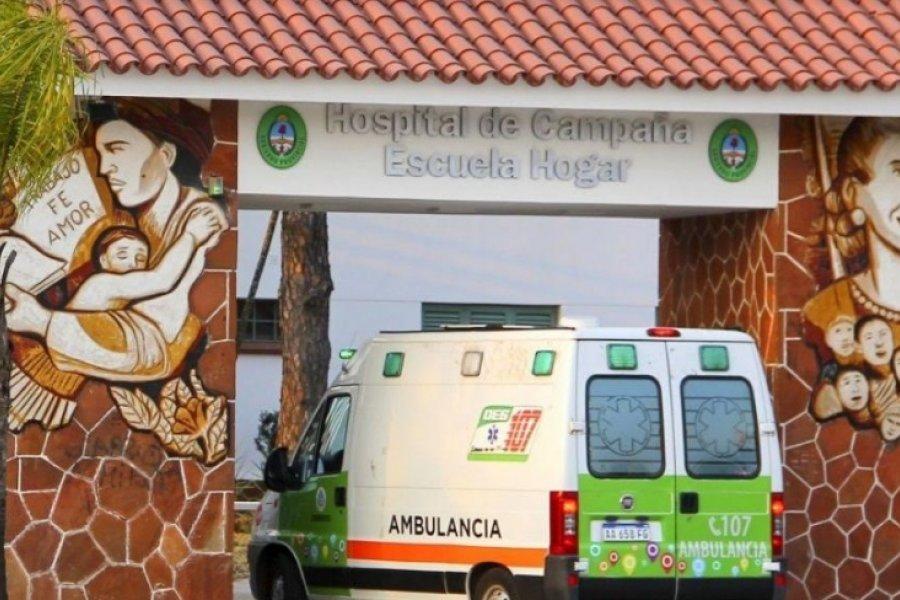 Escalada de Coronavirus: 222 internados en el Hospital de Campaña