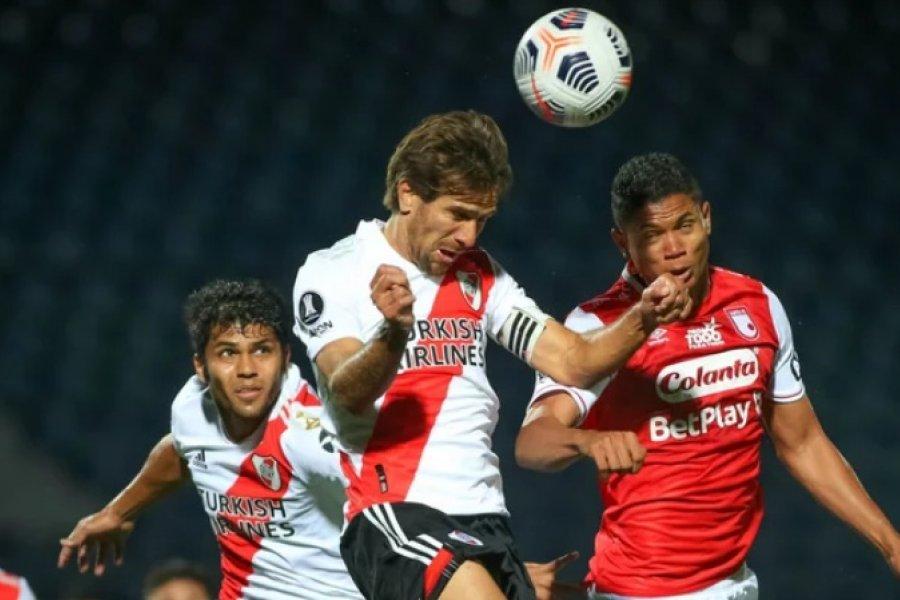 River igualó en Asunción frente a Independiente Santa Fe