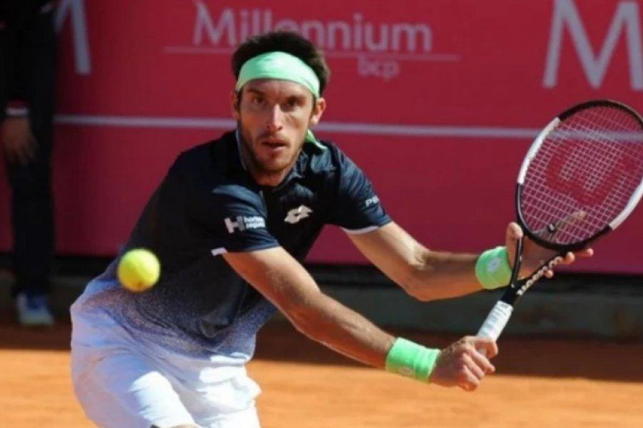 El correntino Mayer perdió en Italia y ahora viajará a Croacia