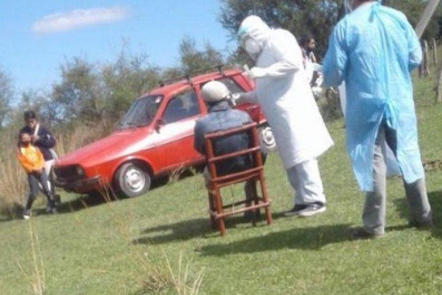 Pandemia: Testeos masivos en un paraje rural de Mercedes