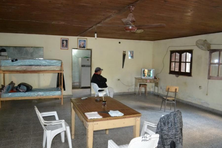 Refugio para personas en situación de calle con limitaciones sanitarias
