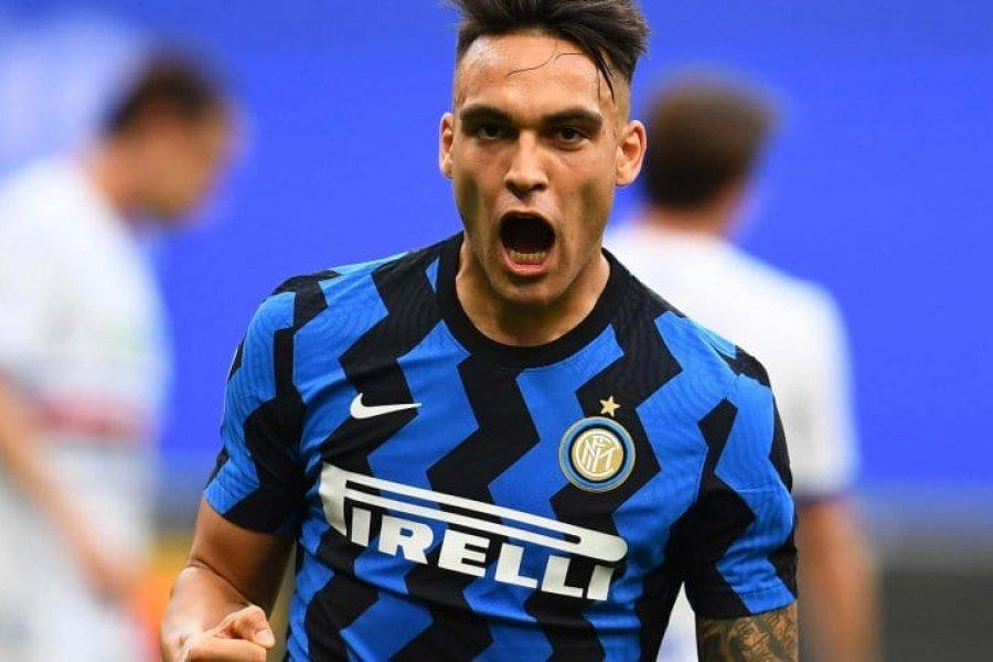 Lautaro Martínez puso su sello en la goleada del Inter Campeón