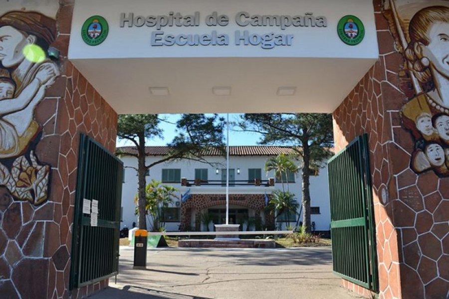 Hospital de Campaña: 53 internados en terapia intensiva por Covid-19