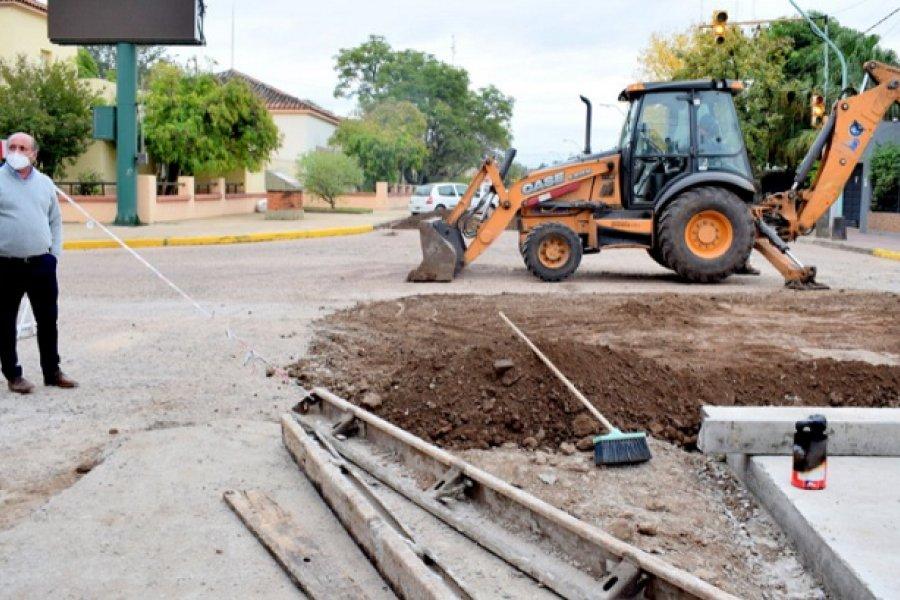 Mercedes: El Intendente arrancó la semana recorriendo obras