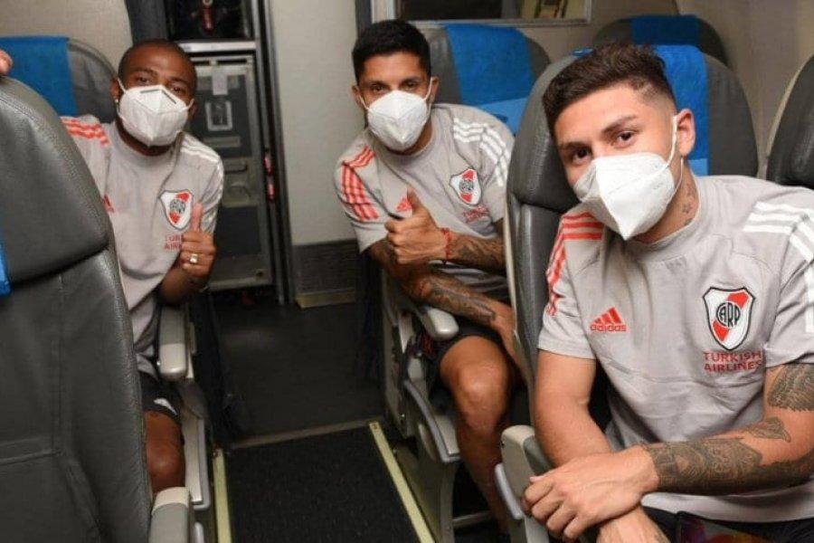 Gonzalo Montiel, Enzo Pérez y Martínez no viajan a Barranquilla