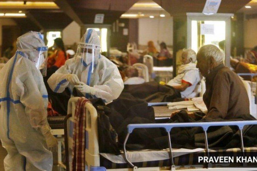 """""""Hongo negro"""": la micosis mortal que presentan pacientes con Covid-19 en India"""