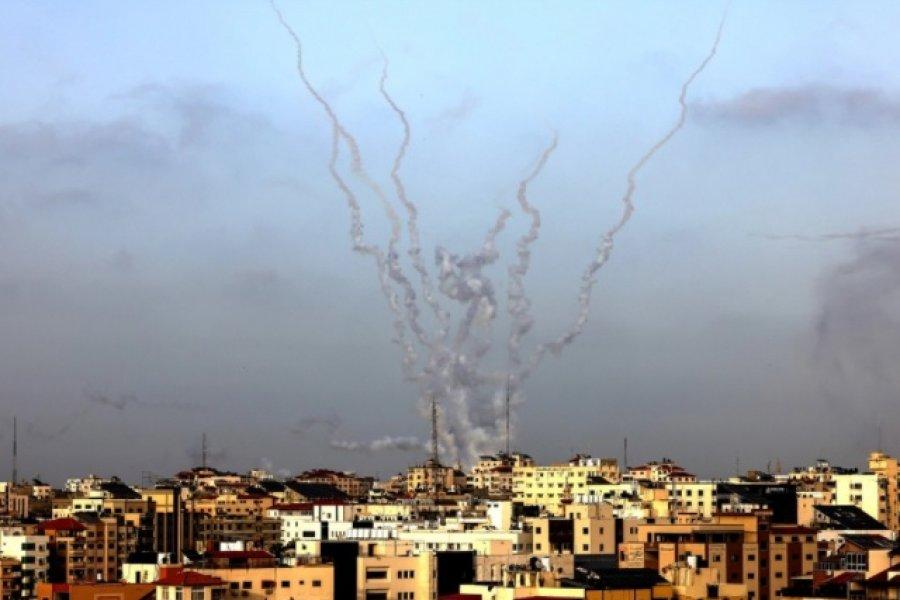 El conflicto en Jerusalén: Hamas atacó la ciudad con cohetes