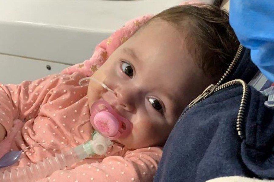 Emmita recibirá este martes la ansiada vacuna Zolgensma