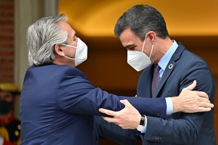 Alberto Fernández: La Argentina y España van a consolidar un acuerdo estratégico