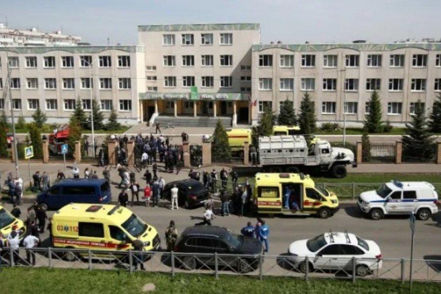 Masacre en una escuela rusa: Acribillan a estudiantes y profesores
