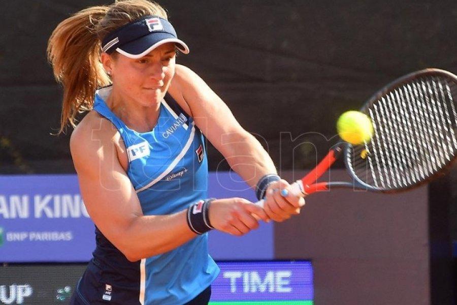 Podoroska avanza en Roma y se medirá con Serena Williams