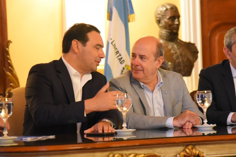 Canteros destacó las gestiones de Valdés en Ururguay