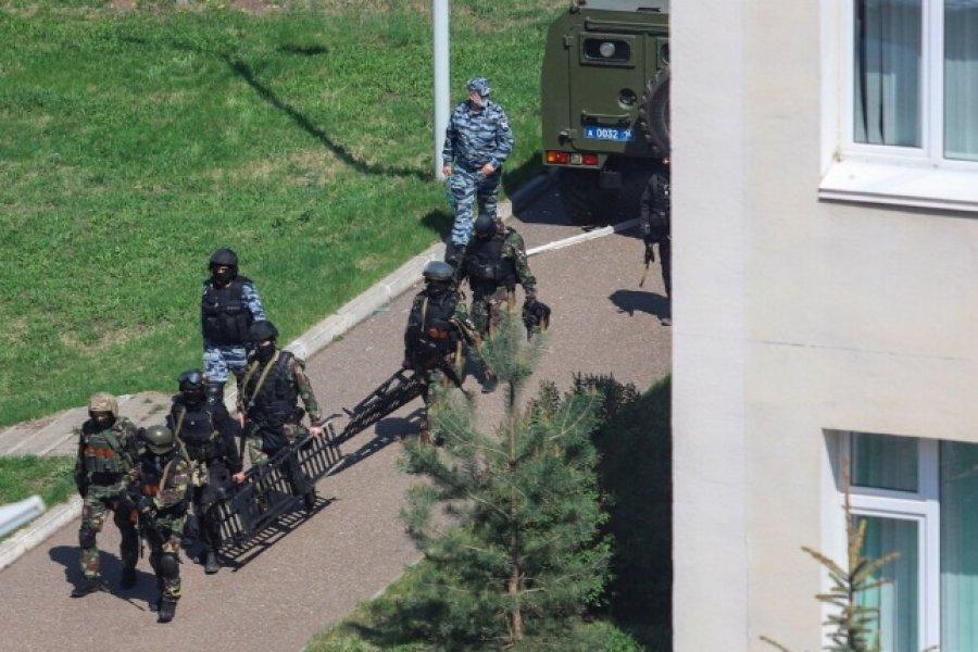 Un joven mató a nueve personas en Kazán, a 700 kilometros de Moscú