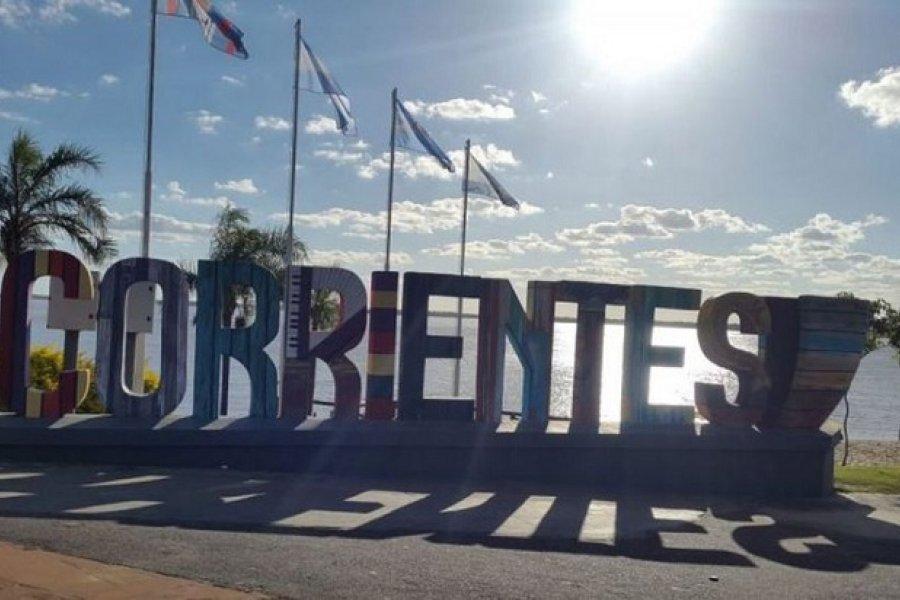 Corrientes con cielo despejado
