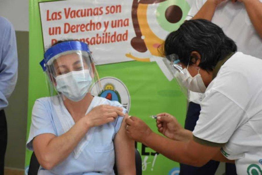 En Monte Caseros hubo masiva demanda de vacunas anticovid