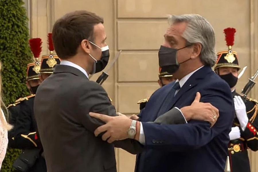 Macron a Fernández: Francia está de su lado en la renegociación de la deuda