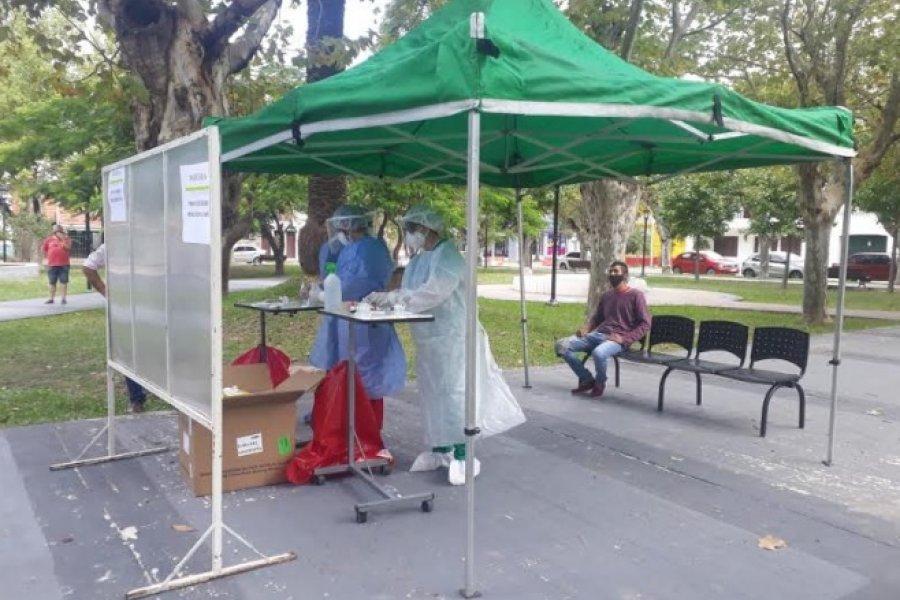 Goya con 21 positivos nuevos y 5 derivados al Hospital de Campaña