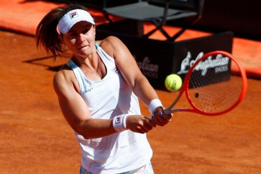 Histórico triunfo de Nadia Podoroska ante la legendaria Serena Williams en el Masters 1000 de Roma
