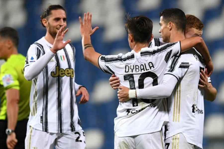 Dybala llegó a los 100 goles con Juventus, que le ganó a Sassuolo