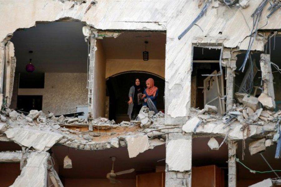 Al menos 65 palestinos y 5 israelíes muertos por escalada Israel- Hamas