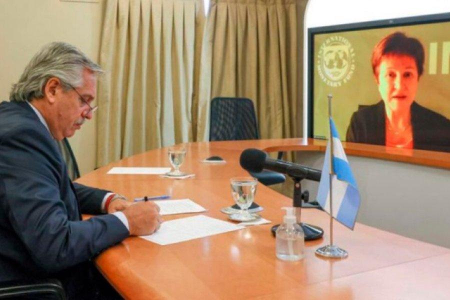 Confirman mano a mano de Alberto Fernández con la titular del FMI