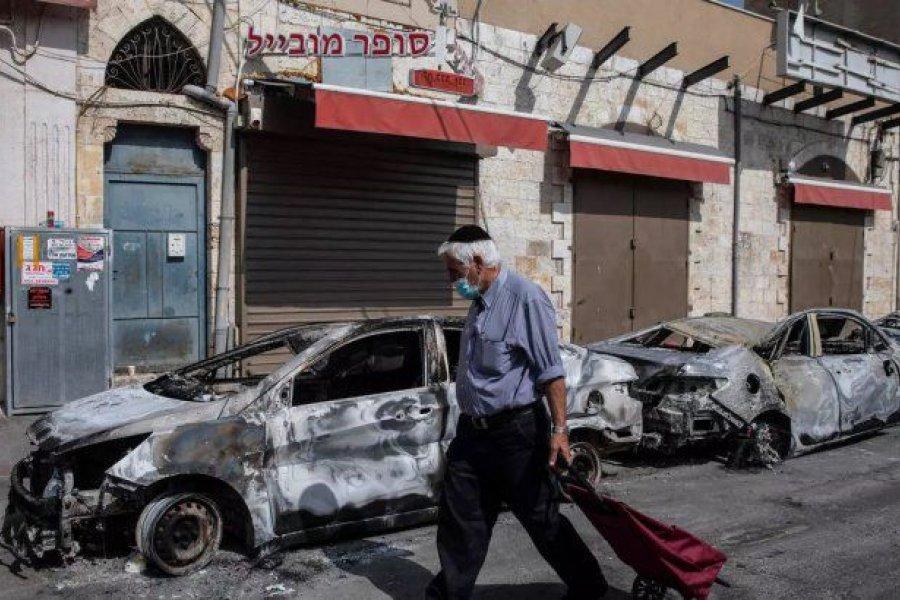 El Ejército de Israel desplegó tropas y aviones para atacar la Franja de Gaza