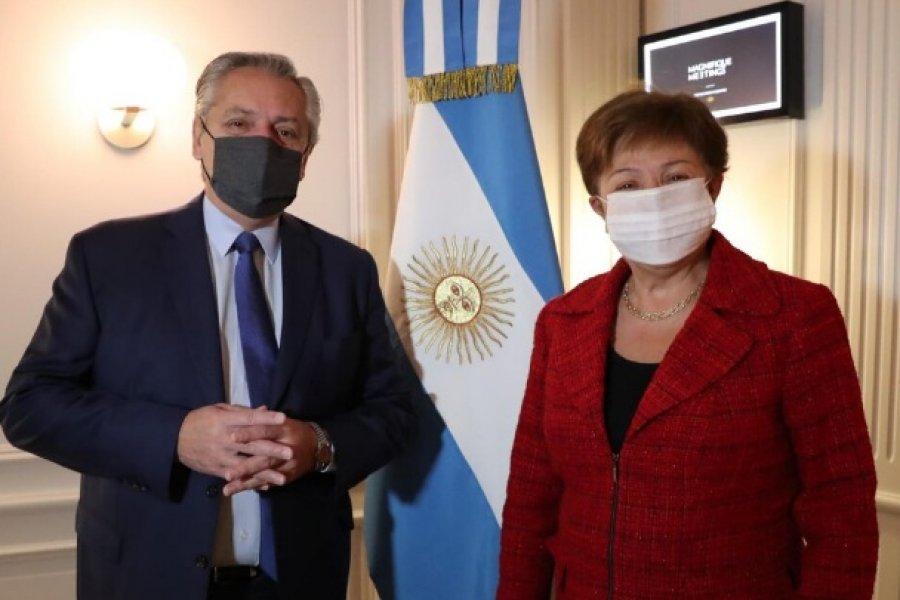 Alberto Fernández se reunió con Kristalina Georgieva: La vocación es encontrar un acuerdo