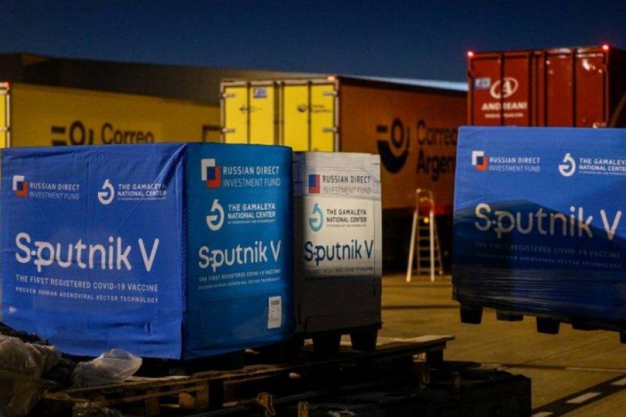Corrientes recibirá 12.600 dosis de la vacuna Sputnik-V