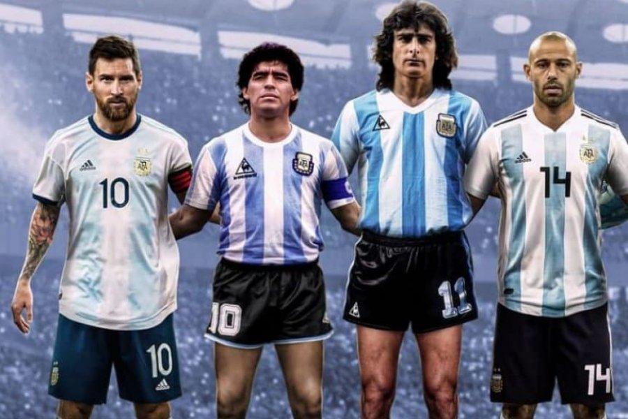 Las 16 figuras de la Selección Argentina que eligió la FIFA en un posteo