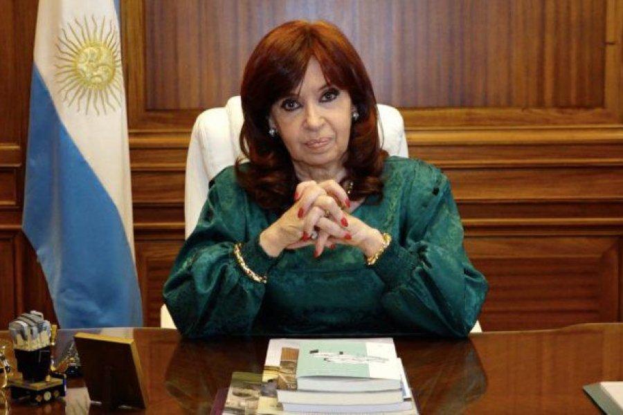 """Cristina Kirchner: """"El acceso a las vacunas es el acceso a la vida"""""""