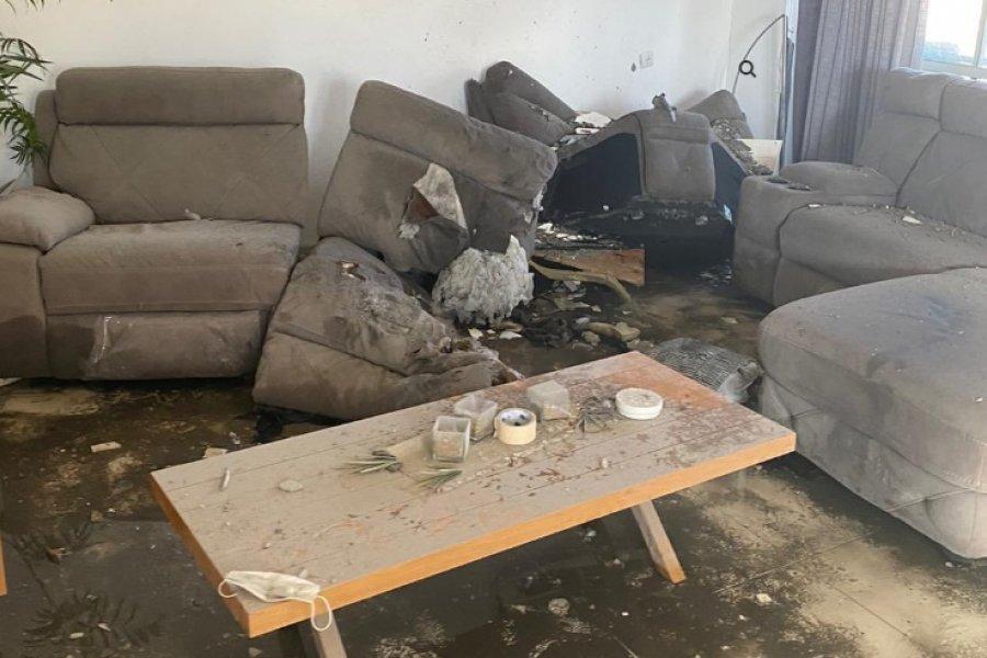 Misil cayó sobre la casa de un correntino en Israel
