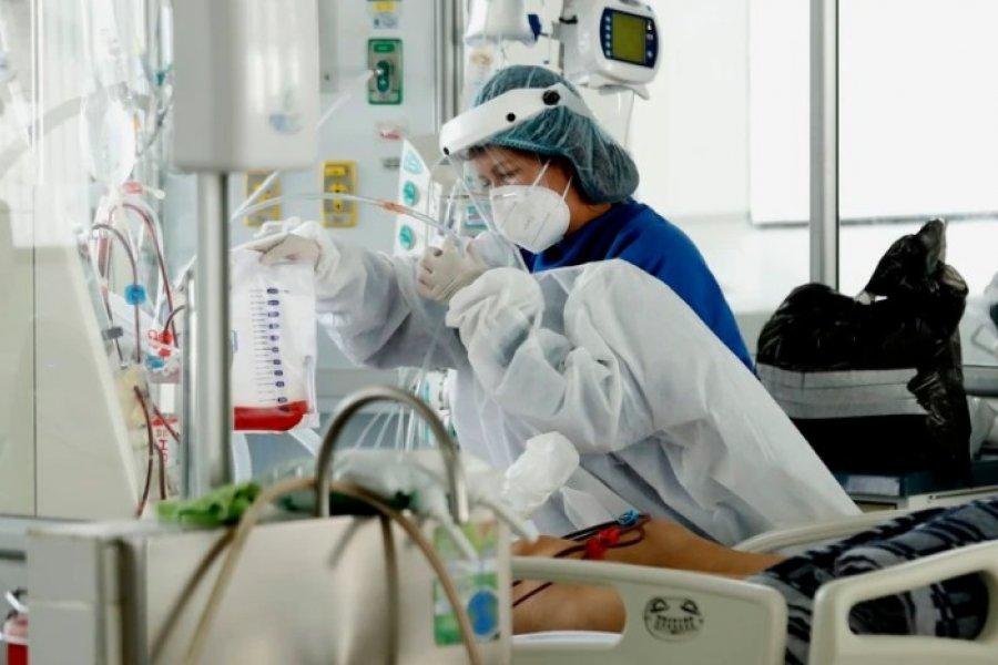 Aumentaron los internados en terapia intensiva y volvió a ser récord la ocupación de camas