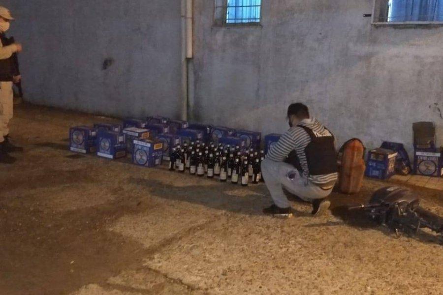 Secuestraron un cargamento de fernet que estaban por cruzar a Uruguay