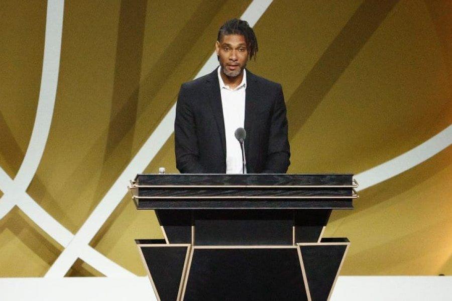El emotivo agradecimiento de Tim Duncan a Manu Ginóbili en su ingreso al Hall of Fame