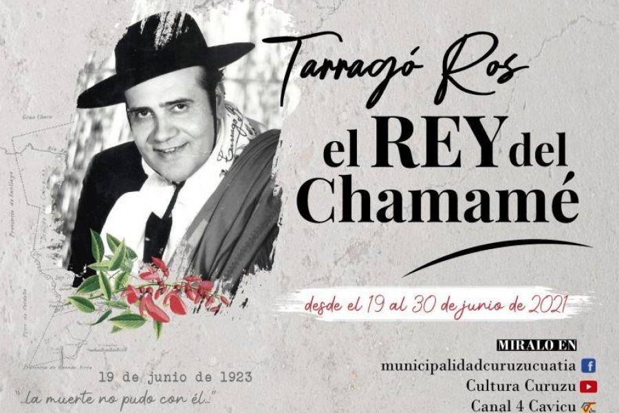 Curuzú Cuatiá prepara un homenaje virtual a Tarrago Ros el Rey del Chamamé