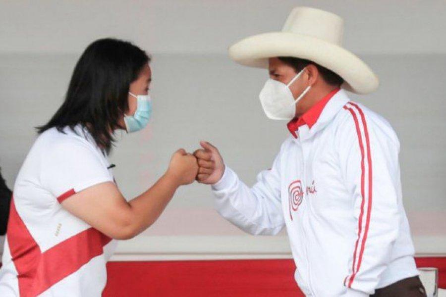 Elecciones en Perú: Keiko Fujimori y Pedro Castillo, en empate técnico